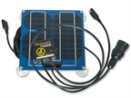 Solar Charger Keeps Batteries Topped Off
