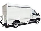 Hackney Truck Body Designed for Ford Transit