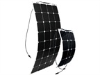 Solar Flex Panels Provide AC Power