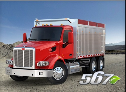 <p>The vocational Peterbilt Model 567. (PHOTO: Peterbilt)</p>