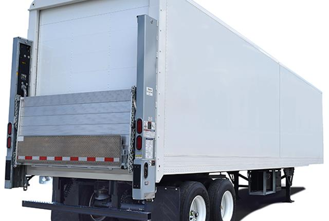 The 21st Century trailer features a rivetless exterior design for better graphics placement. Photo: Mickey Truck Bodies