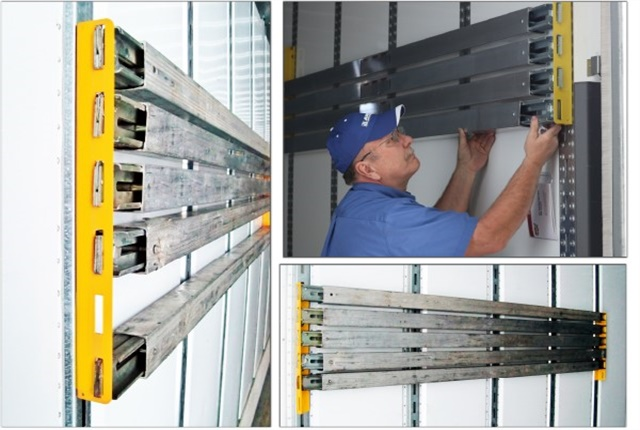 Leave no beam behind with Ancra's new Beam Rack storage system. Photo: Ancra