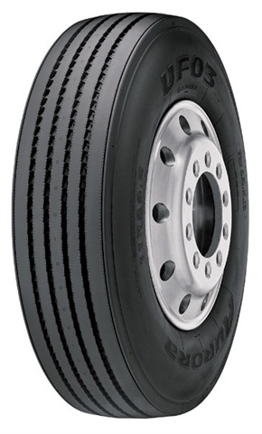 <p>The Aurora UFO3 is a long haul steer tire and it has been SmartWay verified.</p>