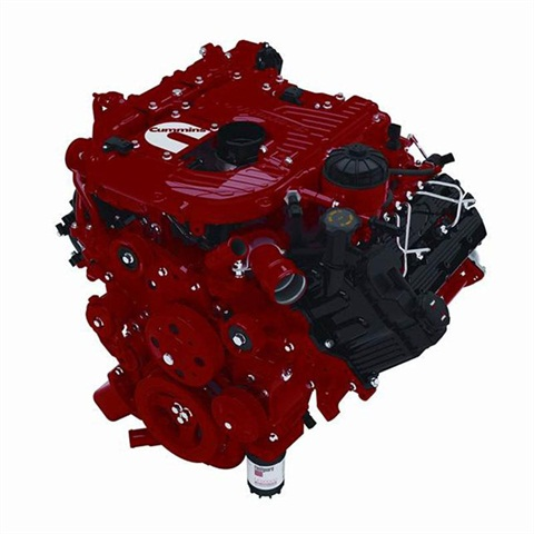 <p>The new Cummins V-8 Turbo Diesel will be offered in the Nissan Titan.</p>