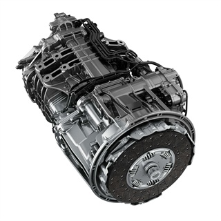 <p>The Detroit DT12 automated manual transmission went into production earlier this year.</p> <p> </p>