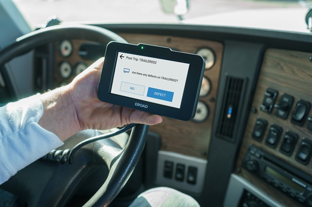 ERoad Inspect is a paperless, in-vehicle Driver Vehicle Inspection Report reporting tool.