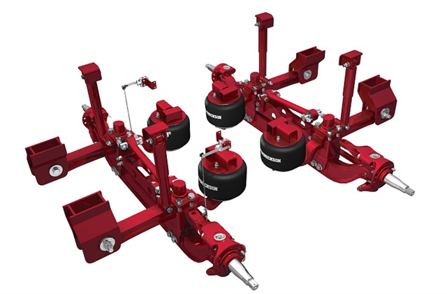 Hendrickson Launches Suspension And Axle Solution For