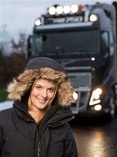 Lisa Kelly, star of the History Channel's Ice Road Truckers and IRT: Deadliest Roads recently revealed the revised Worldtrucker smart-phone app and website.