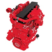 The ISX12 for '13 has ratings from 310 to 425 horsepower and over 800 pounds-feet of clutch engagement torque.