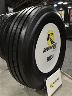 The new Roadmaster RM234 offers truckers a premium option to Cooper Tire's RM185.