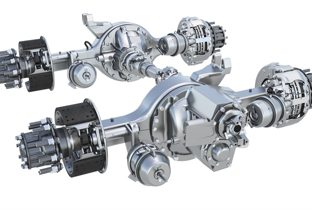 Meritor RT46 tandem comes with wide range of axle ratios.
