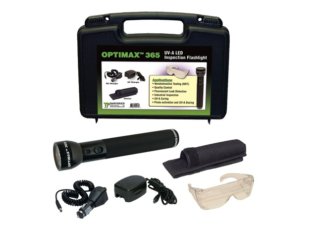 optimax 365 uses uv light for leak detection eurokam. Black Bedroom Furniture Sets. Home Design Ideas