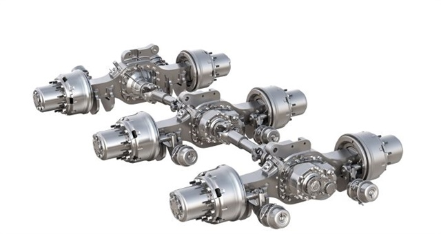 Meritor Drive Axle Parts : Meritor axle torque specifications pictures to pin on