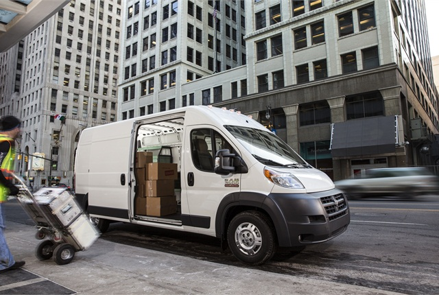 ProMaster's low floor height will aid in loading and unloading, Ram says.
