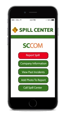 Spill Center App Offers Quick Link to Experts