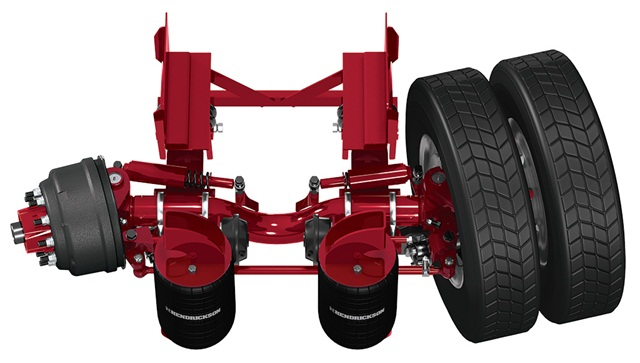 Heavy Equipment Suspension : Hendrickson introduces toughlift for non steer and