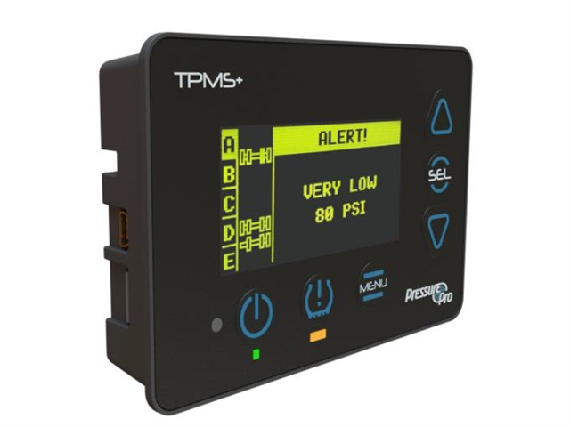 TPMS+ Has Bright, Capable 'Pulse' Display