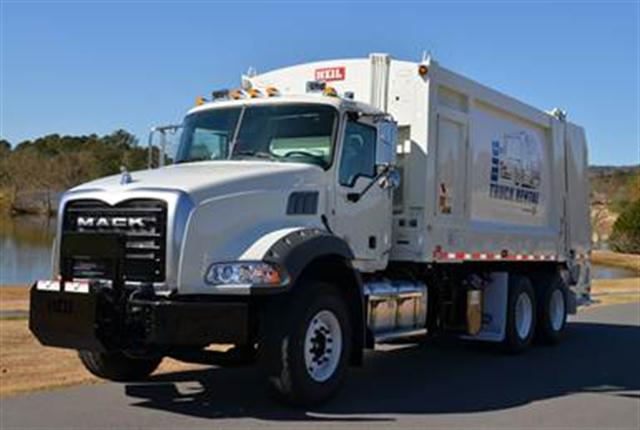 <p>Mack Trucks introduced today the Mack Granite MHD rear loader, a lightweight solution for refuse customers.</p>