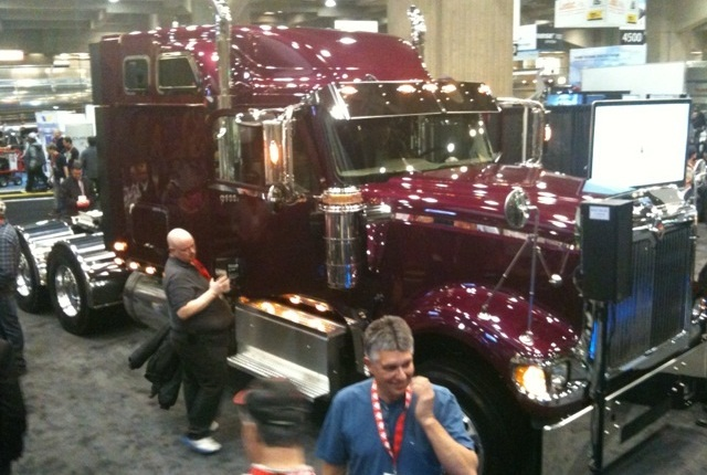 <p>Pictures is the 9900i after Navistar International Corp. re-launched the 9900i along with PayStar 5900 SBA models at ExpoCam, Canada's National Truck Show.</p>