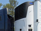 Carrier Transicold's Vector 8500 single-temperature hybrid trailer refrigeration unit introduces a new electric digital scroll compressor, resulting in a significant unit weight reduction while helping the improve refrigeration capacity.