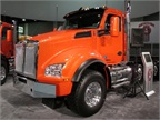 Kenworth's newest vocational model, the T880, unveiled in Louisville, KY yesterday.<br /><br />