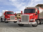 New Model 567 vocational trucks from Peterbilt.