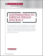Lightweighting to Improve Freight Efficiency