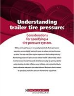 Understanding Trailer Tire Pressure