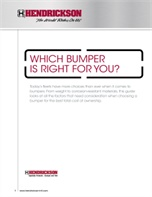 Which Bumper Is Right for You?