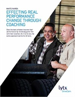 Effecting Real Performance Change thru Driver Coaching