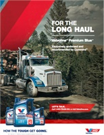 For the Long Haul Valvoline™ Premium Blue™  Proven to Extend Drain Intervals 10,000 Miles