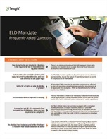 ELD Mandate: Frequently Asked Questions