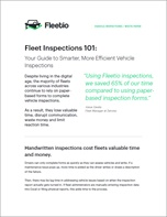 Fleet Inspections 101: Your Guide to Smarter, More Efficient Vehicle Inspections