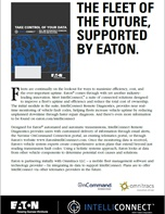 The Fleet of the Future, supported by Eaton
