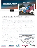 Idle Reduction: Benefits Without the Sacrifices