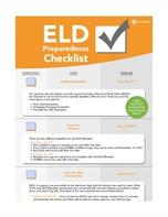 ELD Preparedness Checklist
