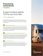 6 Ways to Achieve Optimal Truck TCO for your Fleet