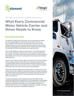 The FMCSA ELD Rule: What Every Commercial Motor Vehicle Carrier and Driver Needs to Know